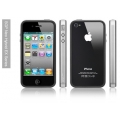 SGP iPhone 4 Case Neo Hybrid EX Series [Satin Silver] (SGP07018)